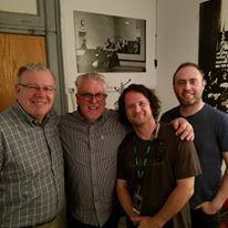 lotas boys, Jim, Jamie, Dan and me